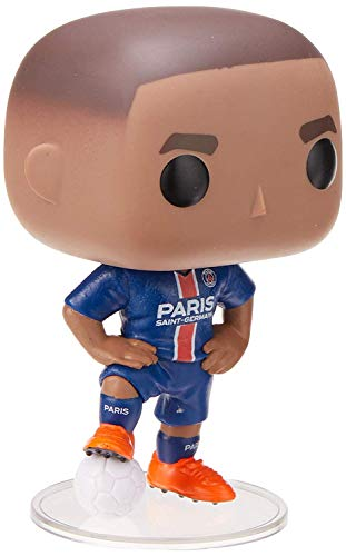 Funko- Pop. Vinyl: Football-Kylian Mbappé (PSG) Collectible Figure, Multicolor (39828)