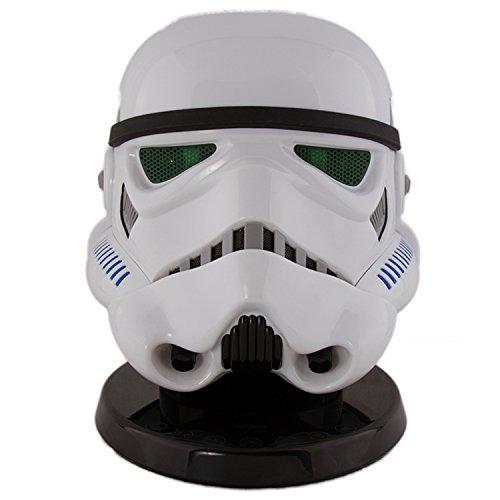 AC Worldwide BXACSTORM - Altavoz con Bluetooth, diseño Stormtrooper Star Wars