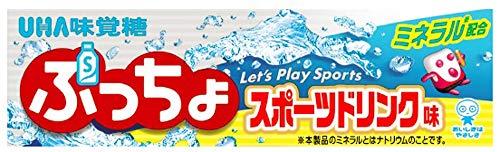 UHA味覚糖 ぷっちょスティック スポーツドリンク 10粒 ×10個