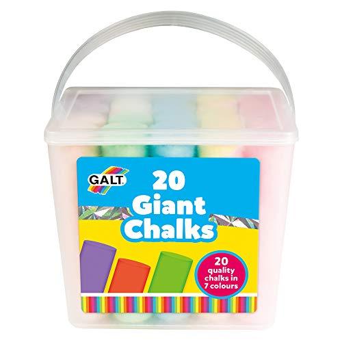 Toys-20 Giant Chalks Galt Toys 20 tizas gigantes, Multicolor (1) , color/modelo surtido