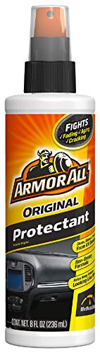 Armor All Interior Car Cleaner Spray Bottle, Protectant Cleaning for Cars, Truck, Motorcycle, Pump Sprayer, 8 Fl Oz, 1037B