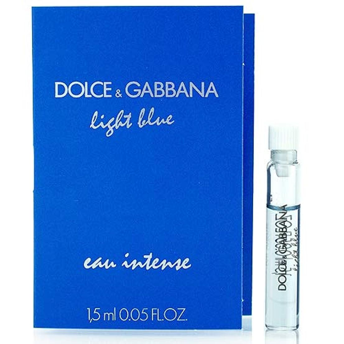 から不健全ご飯ドルチェ&ガッバーナ D&G ライトブルー オーインテンス オードパルファム EDP スプレー 1.5ml ミニ香水 サンプル 香水 DOLCE GABBANA [並行輸入品]