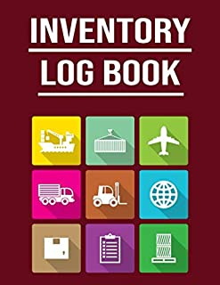 Inventory Log Book: For Small Business & Home! | 120 Pages to Record & Track Unit Price, Quantity, Reorder Time & More!