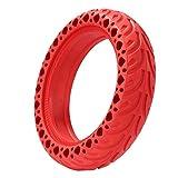 ADUCI 1pc eléctrico Scooter neumático Durable para X-I-A-O-M-I MIJIA M365 / Pro MI Neumáticos sólidos Amortiguador Amortiguador Neumático no neumático Ampliación de neumáticos Rueda (Color : Rojo)