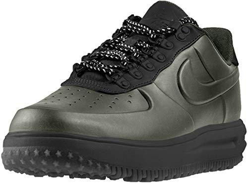 Nike Herren Lunar Force 1 Duckboot Low Schwarz Synthetik Sneaker 40