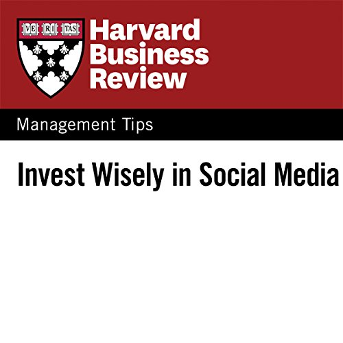 Invest Wisely in Social Media audiobook cover art