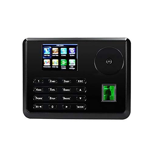 HEQIE-YONGP Timeuhren für Mitarbeiter Kleinunternehmen Palm-Anwesenheits-Time Clock mit TCP/IP USB RS232 / 485-biometrischem Fingerabdruck-Zeit-Recorder Mitarbeiter Anwesenheitszeit