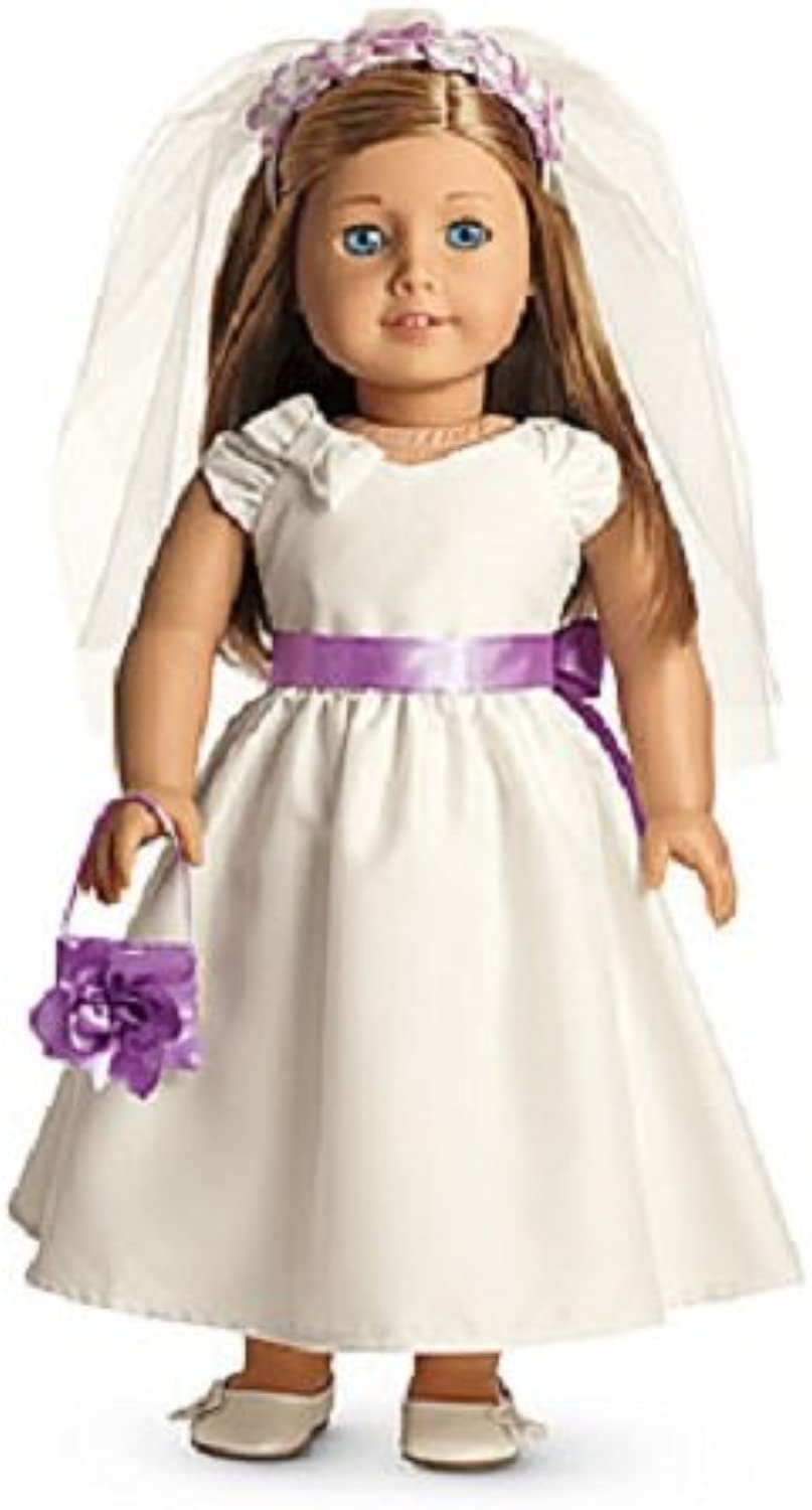 American Girl My AG Fancy Occasion Dress + Charm