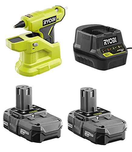 18-Volt Cordless Compact P306 Glue Gun Combo Kit with 2 Batteries and Charger (NO Retail Packaging, Comes in Bulk Packaging)