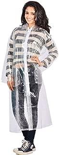 Krystle Transparent 100% Water Proof Rain Coat|Rain Suit with Hood & Bottom for Men|Women|Girl's
