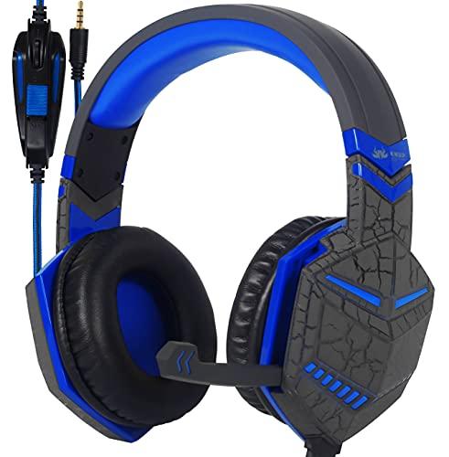 Headset Fone de Ouvido Gamer para Smartphone PS4, PS5, Estereo com Microfone P2, Único Controle de Volume Knup