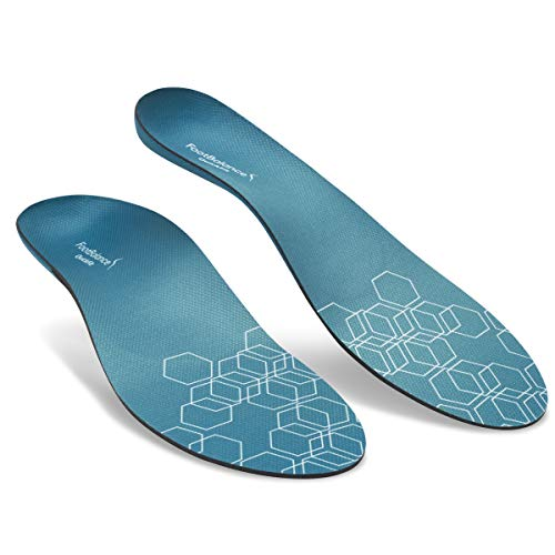 FootBalance QuickFit Balance Insoles | Men's & Women's Orthotic Inserts | Custom Heat Moldable for Sports Shoes and Arch Support (47-48)