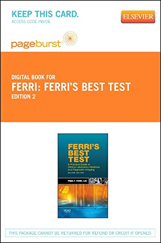 Ferri's Best Test - Elsevier eBook on VitalSource (Retail Access Card): A Practical Guide to Laboratory Medicine and Diagnostic Imaging (Ferri's Medical Solutions)