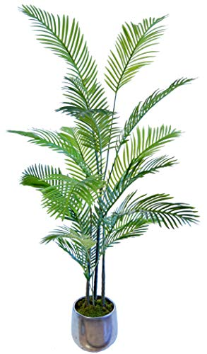 Palmera Artificial, Ideal para Decoración del Hogar u Oficina, Planta Artificial (180 cm)