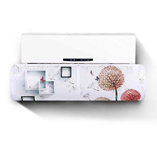 ALaSou Condizionatori a Parete Deflettore,Aria condizionata Vento deflettore d\'Aria Deflettore Regolabile del Vento Prevenire Vento Freddo(Dandelion)