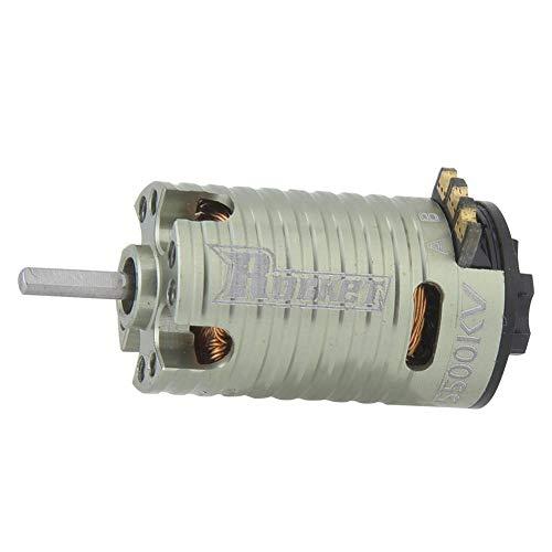 Qiterr Motore brushless RC, Motore brushless Mini-Z 5500KV 2 Poli per Auto Modello RC 1/24 1/28
