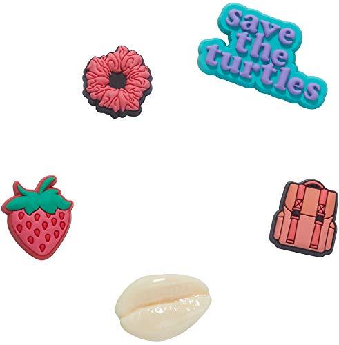 Crocs Shoe Charms 5-Pack   Personalize with Jibbitz, Encantos para zapatos Unisex Adulto, Vsco Girlie 5 unidades, Talla única
