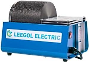 Leegol Electric Hobby Rock Tumbler Machine - Single Drum 3LB Rock Polisher (Single Barrel)