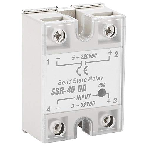 KSTE SSR-40 DD 40A 5-220VDC Solid State Relais for die Industrieautomation Prozess