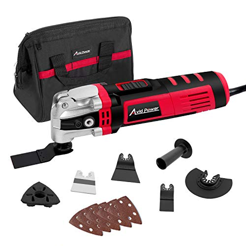 Avid Power Oscillating Tool, 3.5-Amp Oscillating Multi Tool with...