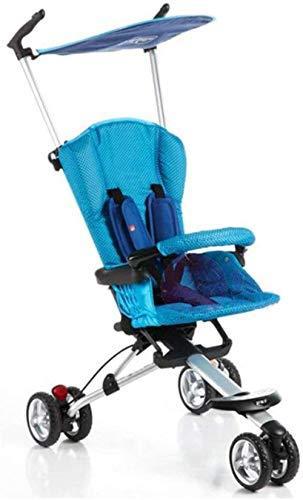 Landaus Poussette Baby Sit Reclining Lumière Pliant 0-3 Ans Bébé Enfant Facile à Transporter Fournitures pour bébé ( Color : A )