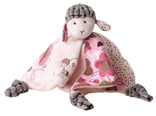 *Inwolino 7960 – Schnuffeltuch Schaf Sweety, rosa/creme/grau*