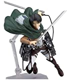 Attack On Titan Figure,Mikasa·Ackerman&Eren Jaeger&Levi Ackerman Figma Figure PVC Toys Collection Model Doll Gift Action Figure (Levi Ackerman)