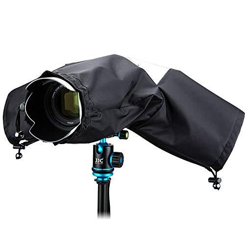 JJC Protector Antilluvia Cubierta de Lluvia Capa Protector para Cámaras DSLR Nikon...