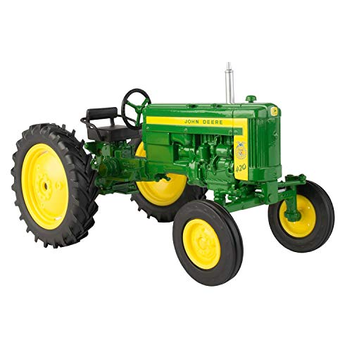 John Deere 1:16 420 FFA Tractor Features a die cast Body with Wide Front axle ERTL New -  45687