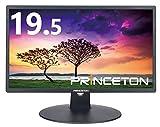 プリンストン 液晶ディスプレイ 19.5型 (1600×900/VGA×1,DVI×1/ブルーライト軽減/フリッカー削減/スピーカー内蔵) HTBNF-20W