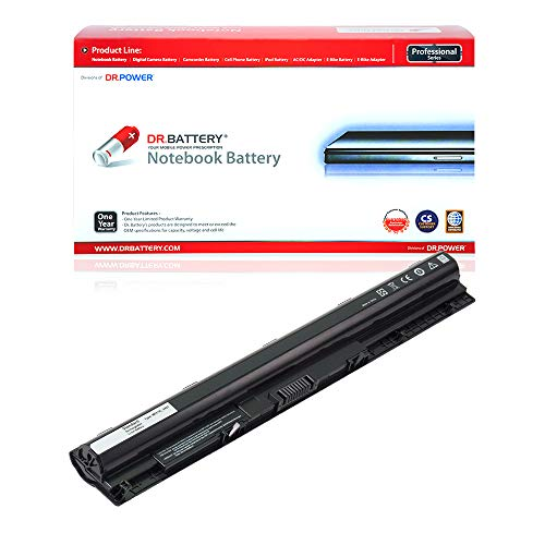 DR. BATTERY Laptop Battery Compatible with Dell M5Y1K Battery Dell Inspiron 3451 3551 5558 5555 5755 5758 Inspiron 14 3452 15 3000 15 5000 15 5559 HD4J0 GXVJ3 991XP VN3N0 07G07[14.8V/2200mAh/33Wh]