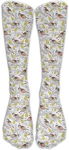 En un peral Calcetines de compresión Calcetines de fútbol Calcetines altos Calcetines largos para correr Medical Athletic Edema Diabético Varices de viaje Viaje Embarazo Espinillas Enfermería