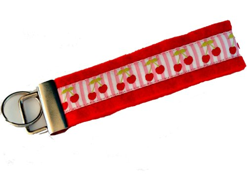 Hand Made Schlüsselanhänger ver. Farben-Muster aus Wollfilz - Limited Design (rot)