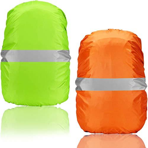 2 Packs Funda Impermeable Mochilas - Miotlsy Cubierta Impermeable para Mochila, A Prueba de Lluvia, a Prueba de Polvo y Antivaho, Adecuado para Acampar, Senderismo, Ciclismo, Escalada etc