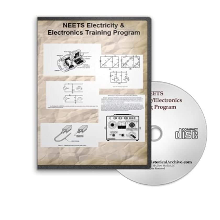 NEETS Electricity and Electronics Training Complete 24 Volume Set on CD