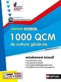 1 000 QCM Culture générale - Concours 2020-2021 - N° 28 - Catégories ABC - (IFP) - 2020