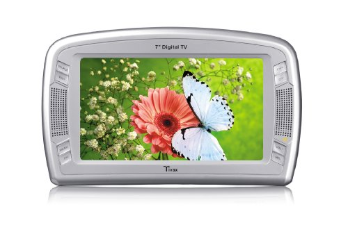 : Tivax MiniVu7 7-Inch LCD Widescreen Handheld Digital TV : Portable & Novelty Televisions