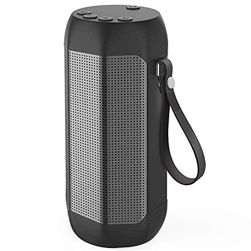Altavoz Bluetooth para Exteriores, Impermeable, portátil, subwoofer para Ordenador, Audio para el automóvil