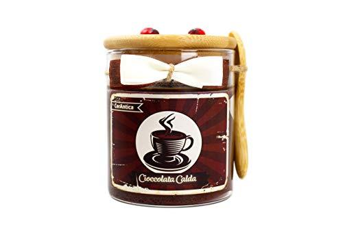 CerAntica Candela Artigianale Cioccolata Calda - Media (245 Grammi)