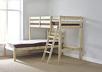 Strictly Beds and Bunks - L-Shaped Bunk Bed, 3ft Single