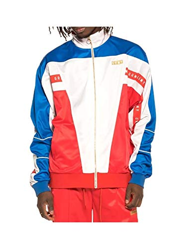 GRIMEY Track Jacket F.A.L.A Poly SS19 Red-XL