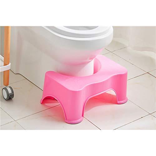 Lw Bathroom stool opstapkruk badkruk de perfecte familie-toiletkruk multifunctionele inzet als kinderstoel Het moderne dagtoilet is praktisch