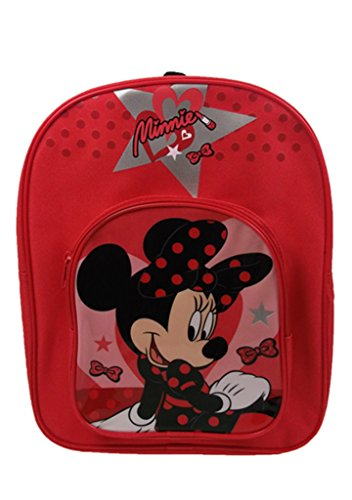 Minnie Mouse Large Arch Children's Backpack, 31 cm, 9 Liters, Red