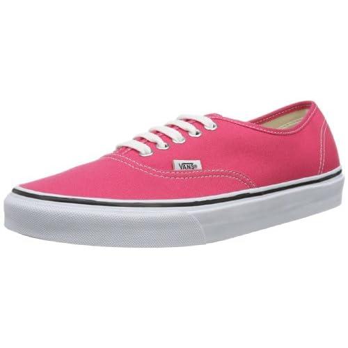 Vans U Authentic, Scarpe Sportive-Skateboard Unisex-Adulto, Rosso (Rot (Rouge Red/trwt), 36