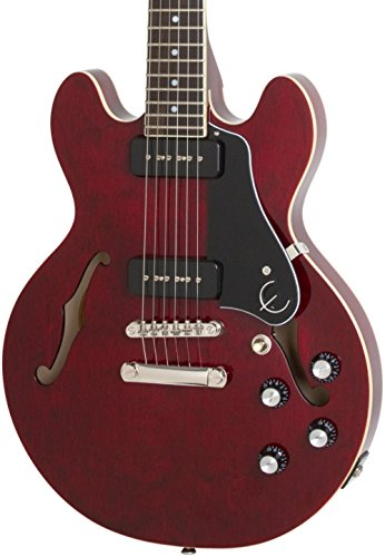 Epiphone ES-339 P90 PRO Semi-Hollowbody Electric Guitar Wine Red