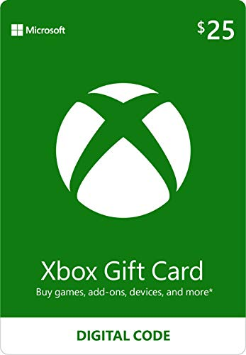 $25 Xbox Gift Card [Digital Code]