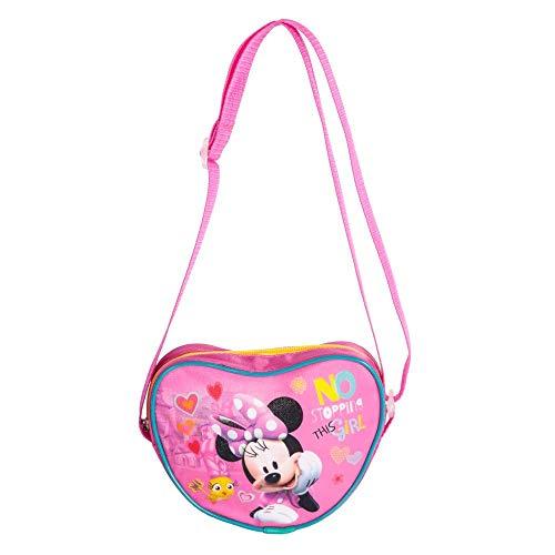 Disney Minnie Maus - KLEINE Schultertasche 19 x 15 x 3 cm