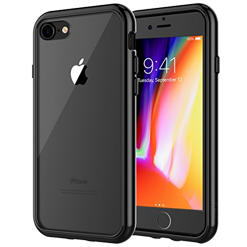 JETech Case for Apple iPhone 8 and iPhone 7, 4.7-Inch, Shock-Absorption Bumper Cover, Anti-Scratch...