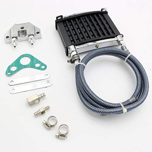 Radiador de enfriamiento universal del enfriador de aceite del motor para moto de 125cc 140 150cc Trail Dirt Bike