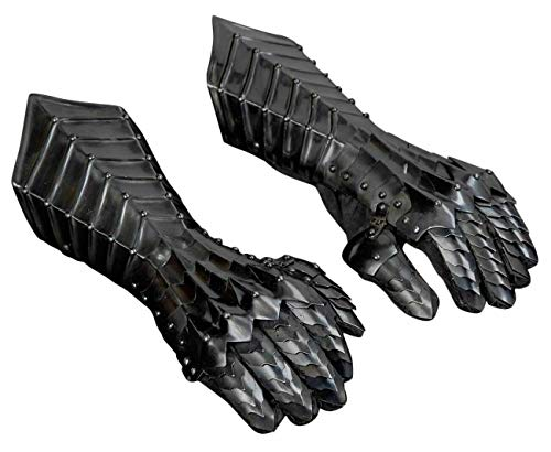 Mariyam Art Handicraft Medieval Knight Gauntlets Gothic Gauntlet Gloves 18G Steel Gifts